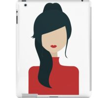 Red lips iPad Case/Skin