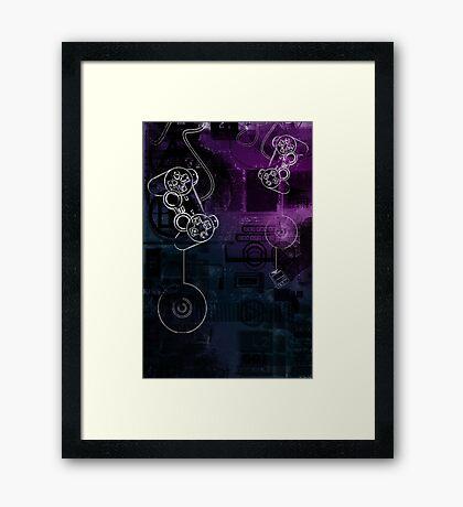 Game Collage  Framed Print