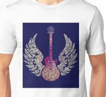 Lynyrd Skynyrd Free Bird Guitar Lyrics Unisex T-Shirt