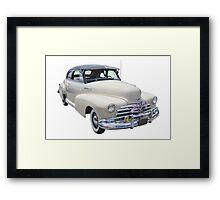 1948 Chevrolet Fleetmaster Antique Car Framed Print