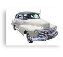 1948 Chevrolet Fleetmaster Antique Car Canvas Print