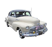 1948 Chevrolet Fleetmaster Antique Car Photographic Print