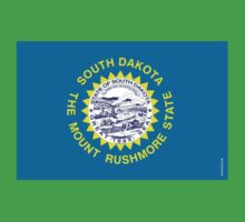 South Dakota State Flag Kids Clothes