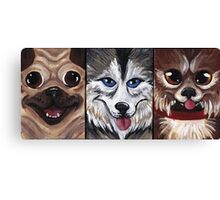 All The Dogs Canvas Print