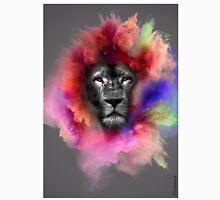Powder Burst Lion Unisex T-Shirt