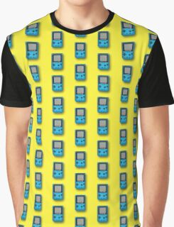 Pixle Art Game Boy Nintendo Retro Graphic T-Shirt