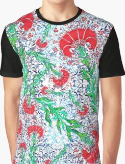 Osmanli Carnation Graphic T-Shirt
