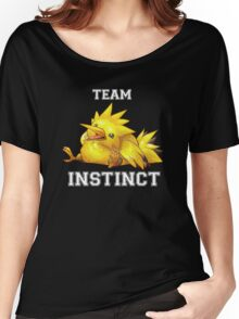 TEAM INSTINCT! Women's Relaxed Fit T-Shirt