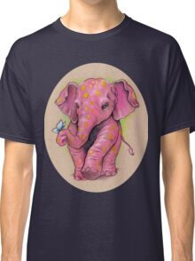 Pink Elephant (with golden spots) Classic T-Shirt