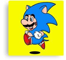Super Hedgehog Canvas Print