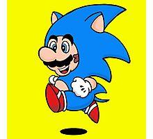 Super Hedgehog Photographic Print