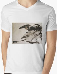 Ming's Dragon Mens V-Neck T-Shirt
