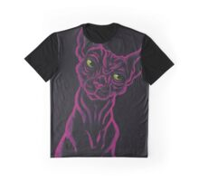 The Pink Sphynx Graphic T-Shirt