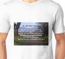 An old Irish Blessing #5 Unisex T-Shirt