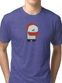 iOS Trainer = Pokemon GO Tri-blend T-Shirt