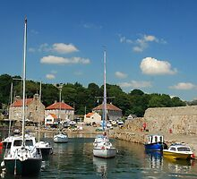 Dysart Harbour (Kirkaldy) by Francis  McCafferty This is Fife!