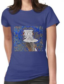 Moony Spoon Womens Fitted T-Shirt