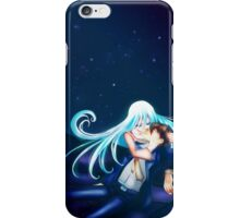She will always watch over him iPhone Case/Skin
