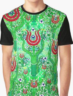 Osmanlı moderni Lalesi Graphic T-Shirt