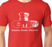 Leica Explore Dream Discover Unisex T-Shirt