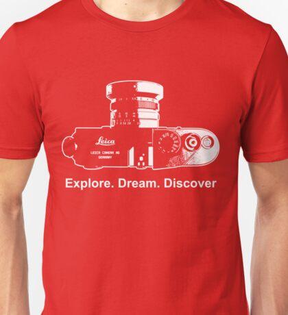 Leica Explore Dream Discover Unisex T-Shirt