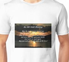 An old Irish Blessing #7 Unisex T-Shirt