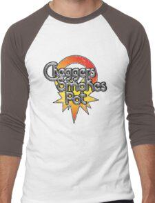 Cheggers Smokes Pot Men's Baseball ¾ T-Shirt