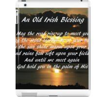 An old Irish Blessing #7 iPad Case/Skin