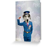 Military Dog Greeting Card
