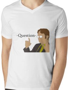 The Office Dwight  Mens V-Neck T-Shirt
