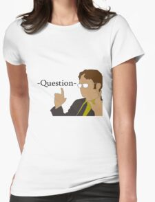 The Office Dwight  Womens Fitted T-Shirt