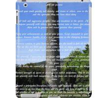 Desiderata #1 iPad Case/Skin