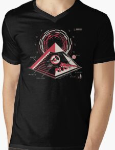 Top Secret Mens V-Neck T-Shirt