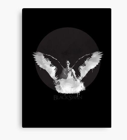 Black Swan- Nina Canvas Print