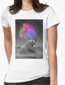 True Colors Within Womens Fitted T-Shirt