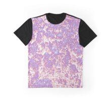 Neon Glow Print Graphic T-Shirt