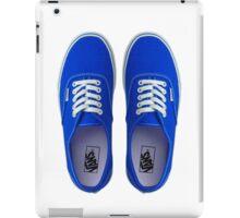 Vans - Blue iPad Case/Skin