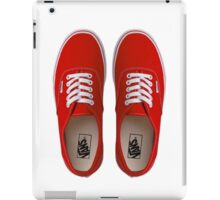 Vans - Red iPad Case/Skin