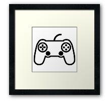Playstation Controller Framed Print