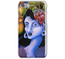 Pitcher Plant - Surreal Weird Art by Ela Steel iPhone Case/Skin