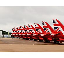 The Reds Photographic Print