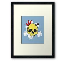 Mumbo Skull Framed Print