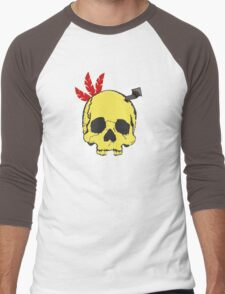 Mumbo Skull Men's Baseball ¾ T-Shirt