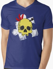 Mumbo Skull Mens V-Neck T-Shirt
