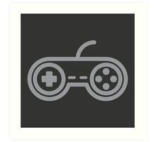 Super Nintendo Controller Art Print