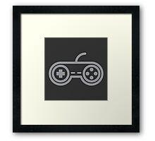 Super Nintendo Controller Framed Print