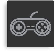 Super Nintendo Controller Canvas Print