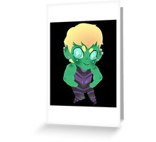 Young Avengers || Hulkling Greeting Card