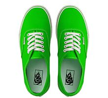 Vans - Green by Sthomas88