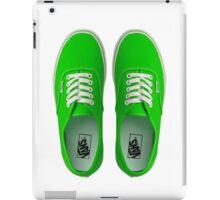 Vans - Green iPad Case/Skin